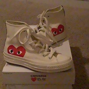 Converse Shoes - CDG Play hi top converse